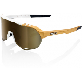 S2 - Peter Sagan LE White Gold - Soft Gold Mirror Lens