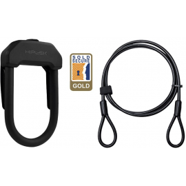 HIPLOK DX+ D LOCK & 2M CABLE: