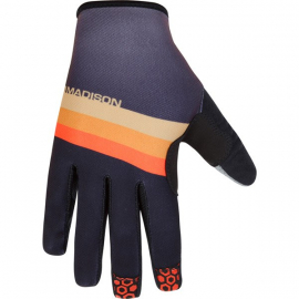 Alpine men's gloves  stripe black / golden syrup X-large