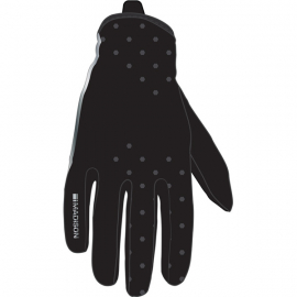 Element women's softshell gloves  hex black large