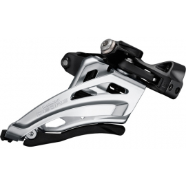 Deore M6000-M triple front derailleur  mid clamp  side swing  front pull