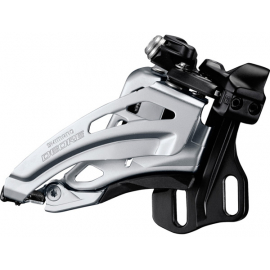 Deore M617-E double front derailleur  E-type  side swing  front pull